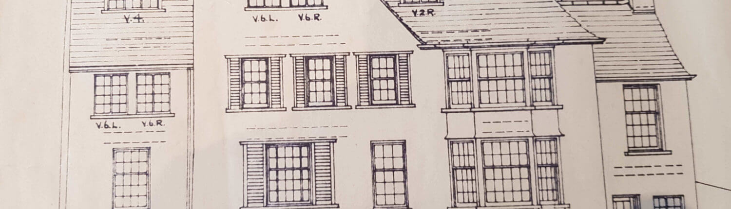 Marlborough Surveyors. Building Plan of an old traditional house